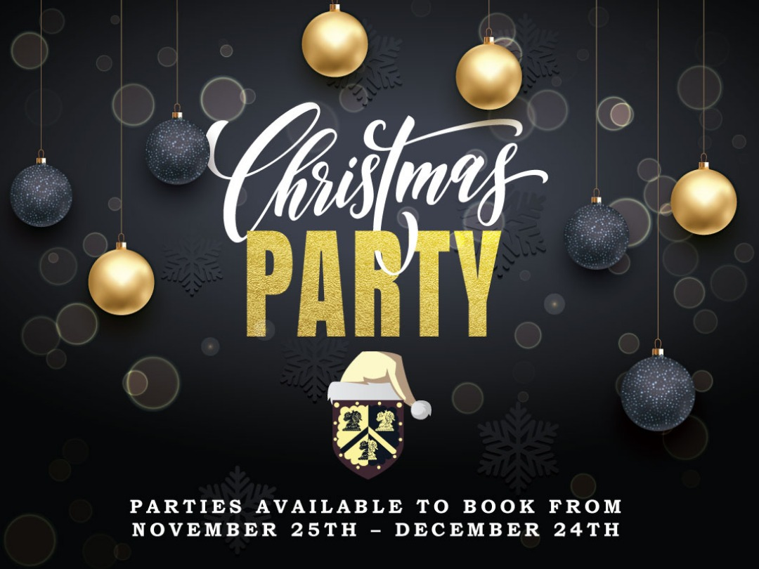 Book Your Christmas Party With Us This Year!