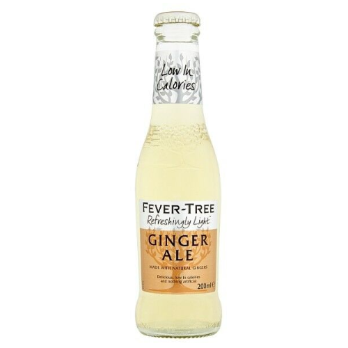 Fever Tree Refreshingly Light Ginger Ale 200ml
