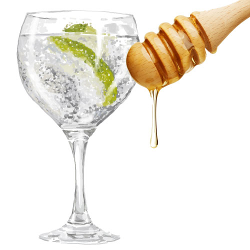 Honey Gin & Tonic